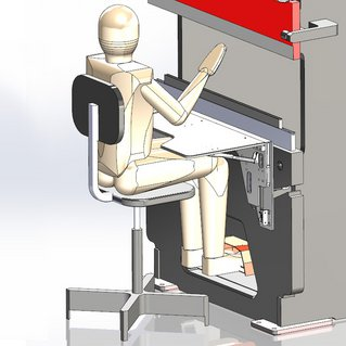 Ergonomic solutions are designed to make the bending process comfortable and fast.